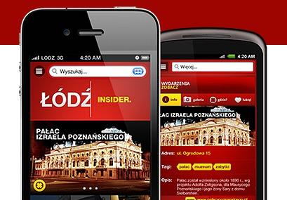 Łódź Insider - Łódź na smaryphonach
