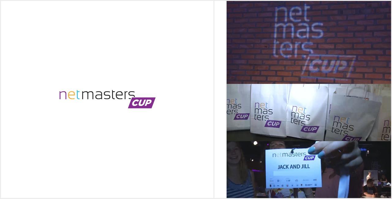 Net Masters Cup - logotyp  i zdjęcia z Wielkiego Finału