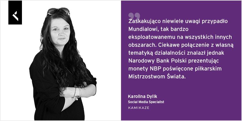 Karolina Dylik social media specialist w Kamikaze o aktywności banków na Facebooku